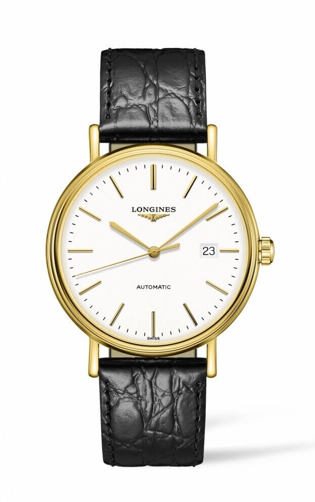 LONGINES PRESENCE Automatic 40mm White Dial Ladies Watch