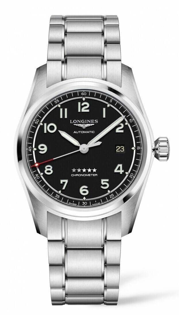 LONGINES Spirit Automatic 40mm Μαύρο Καντράν Ανδρικό Ρολόι
