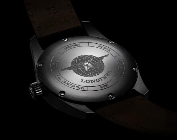 LONGINES Spirit Automatic 42mm Black Dial Mens Watch