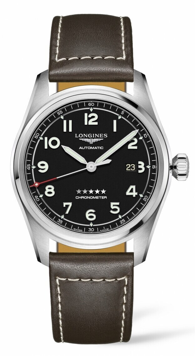 LONGINES Spirit Automatic 42mm Μαύρο Καντράν Ανδρικό Ρολόι