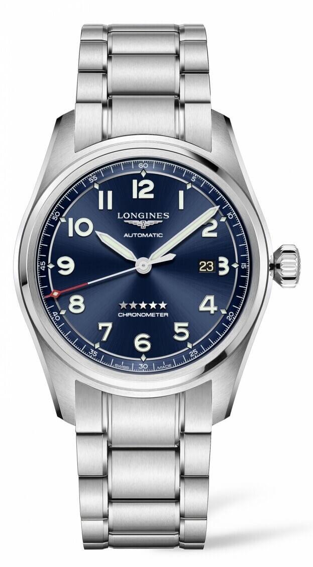 LONGINES Spirit Automatic 42mm Μπλε Καντράν Ανδρικό Ρολόι