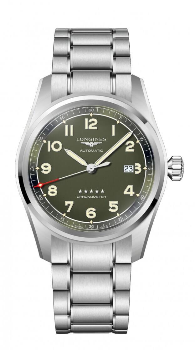 LONGINES Spirit Automatic 42mm Πράσινο Καντράν Ανδρικό Ρολόι