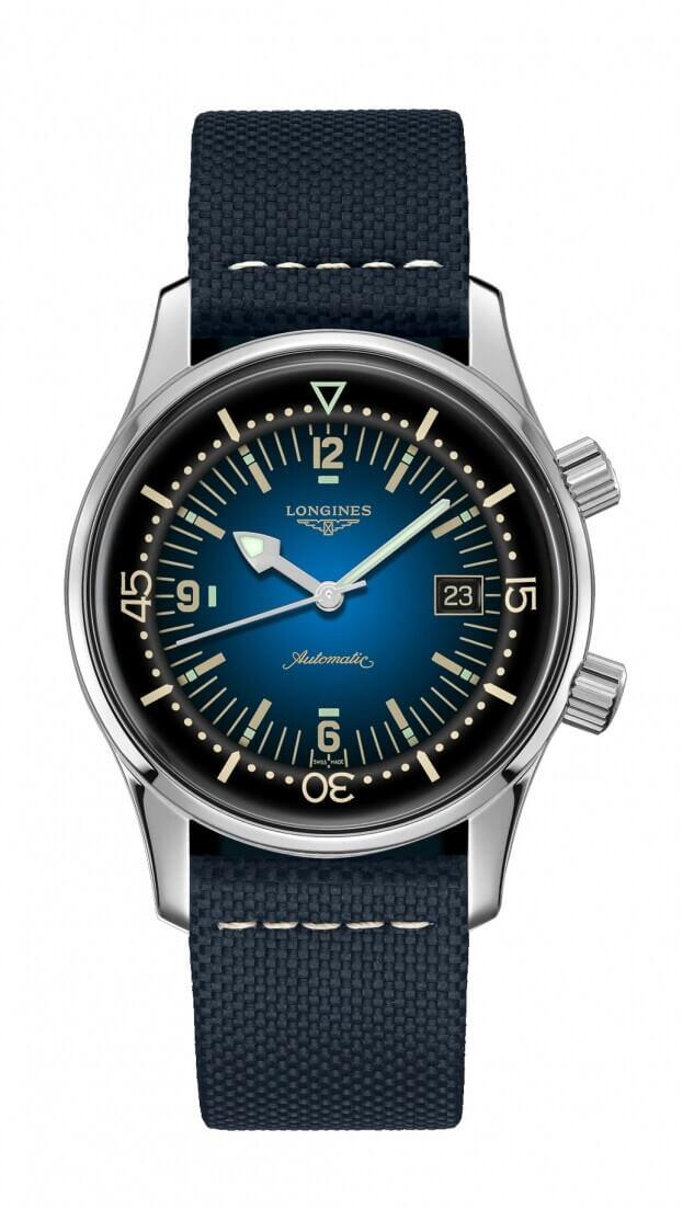 LONGINES THE LEGEND DIVER WATCH 42mm Blue DIAL