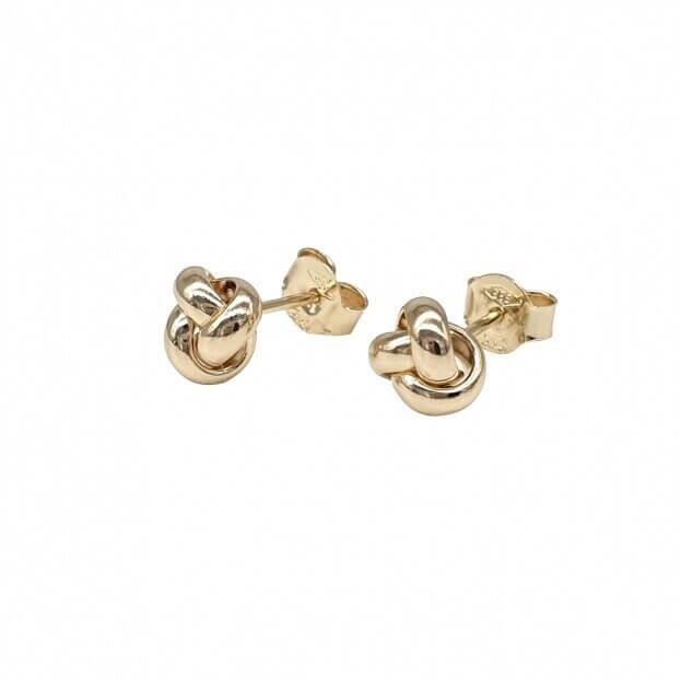 Inglessis Collection Σκουλαρίκια Κίτρινο Χρυσό Κ14 (ζεύγος)