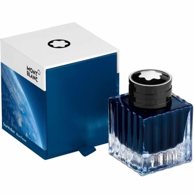Montblanc Ανταλλακτικό Μελάνι Μπλε 50ml Ink Bottle StarWalker Blue Planet