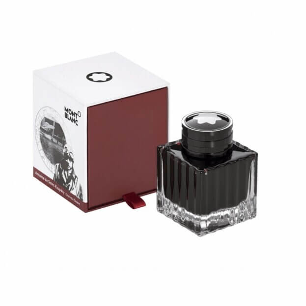 Montblanc Ανταλλακτικό Μελάνι Σαφράν 50ml Ink Bottle 50 ml Antoine De Saint-Exupéry Saffron