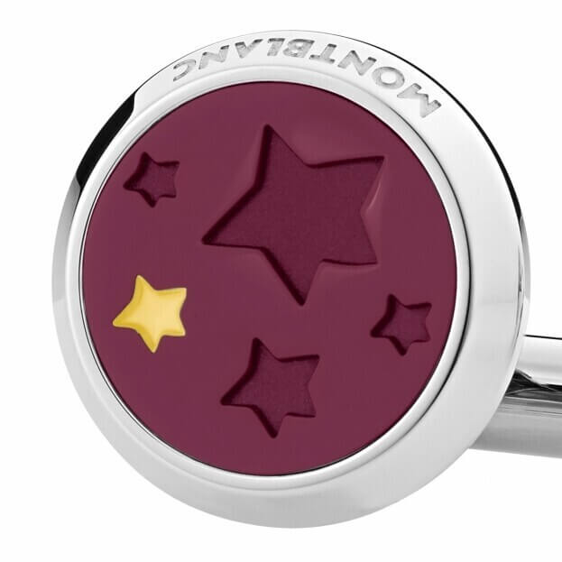 MONTBLANC Cufflinks Le Petit Prince Y3 Steel Lacquer 126099