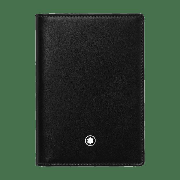 Montblanc Δερμάτινη Καρτοθήκη Montblanc Meisterstück Business Card Holder Μαύρη