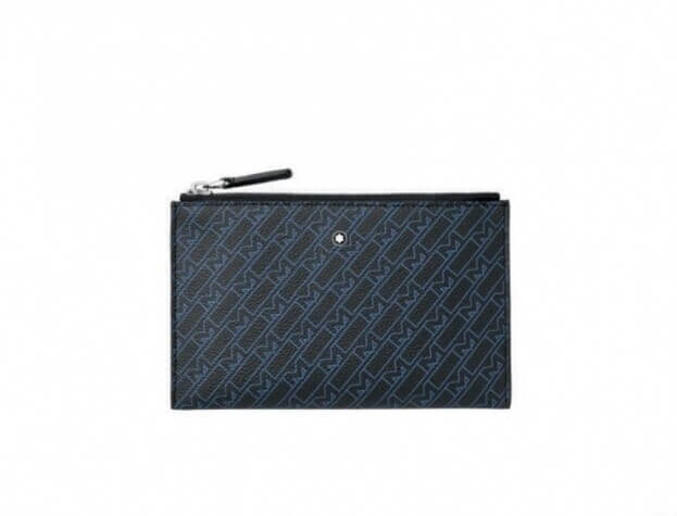 MONTBLANC Δερμάτινη Θήκη M_Gram 4810 Mini Pouch Μπλε