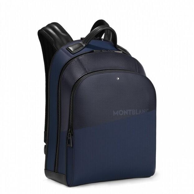 Montblanc Extreme 2.0 Backpack Large Μαύρο & Μπλε Δέρμα