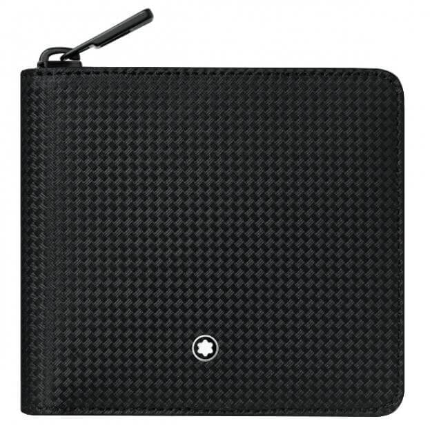 MONTBLANC EXTREME 2.0 WALLET 4CC ZIP WITH COIN CASE 123949