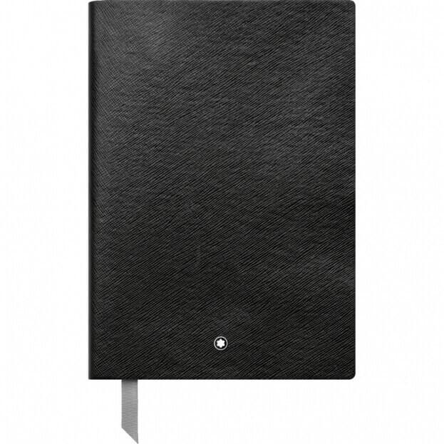 Montblanc Fine Stationery Notebook #146 Σημειωματάριο Δερμάτινο Α5 Μαύρο