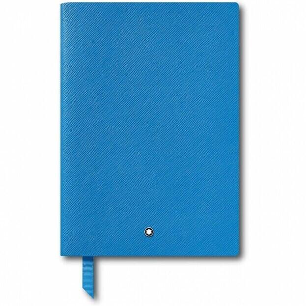 Montblanc Fine Stationery Notebook #146 Σημειωματάριο Δερμάτινο Α5 Μπλε