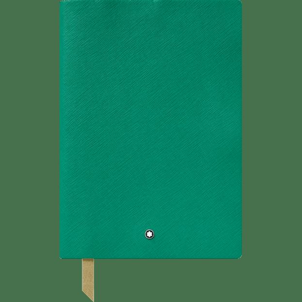 Montblanc Fine Stationery Notebook #146 Σημειωματάριο Δερμάτινο Α5 Πράσινο Emerald Green