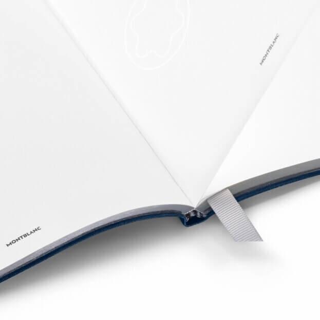Montblanc Fine Stationery Sketch Book #149 Σημειωματάριο Δερμάτινο Μπλε Indigo
