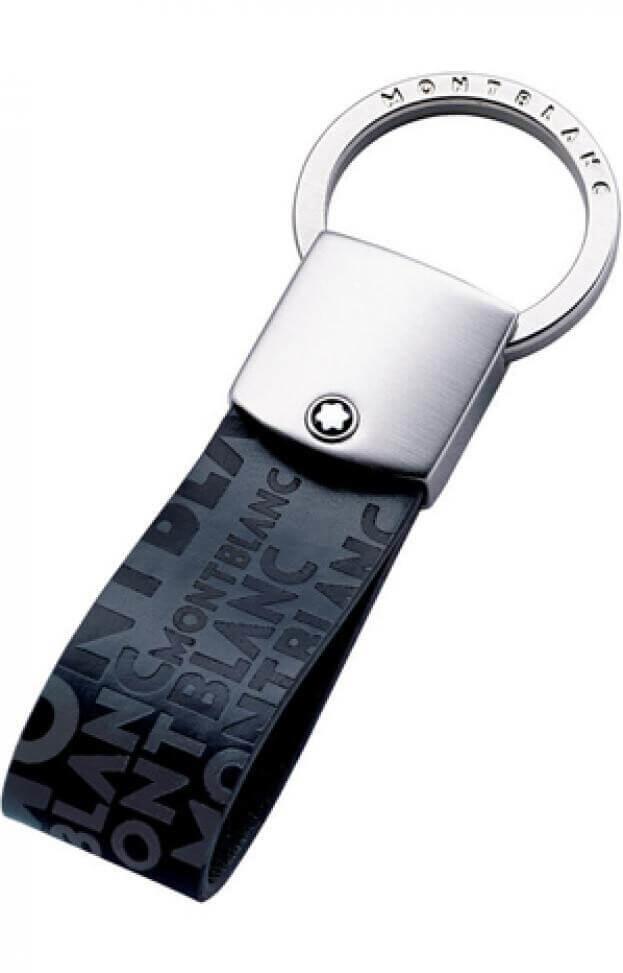 MONTBLANC LEATHER KEY RING 112693