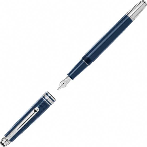 Montblanc Meisterstück Classique Around The World In 80 Days Fountain Pen πένα Μπλε