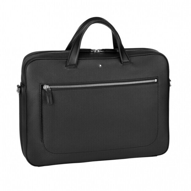 MONTBLANC Meisterstück Soft Grain Medium Document Case Μαύρο Δέρμα