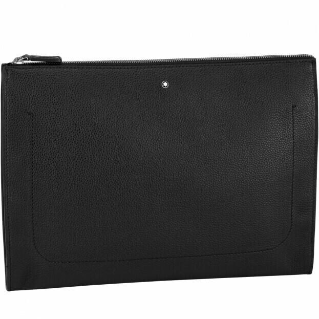 Montblanc Meisterstück Soft Grain Portfolio Τσάντα Φάκελος Μαύρο Δέρμα