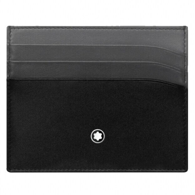 MONTBLANC Meisterstück Pocket Holder 6cc Καρτοθήκη Μαύρη