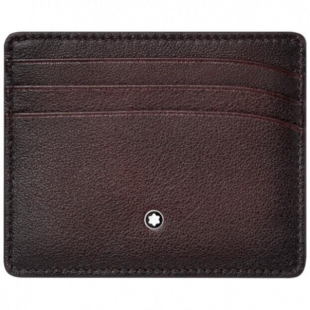 MONTBLANC Meisterstück Sfumato Pocket Holder 6cc Burgundy 123729