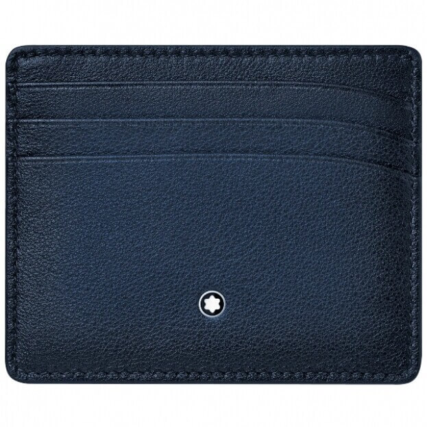 MONTBLANC Meisterstück Sfumato Pocket Holder 6cc Navy Blue 123728