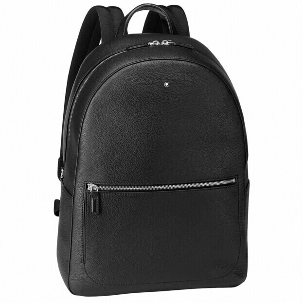 Montblanc Meisterstück Soft Grain Medium Backpack Μαύρο Δέρμα