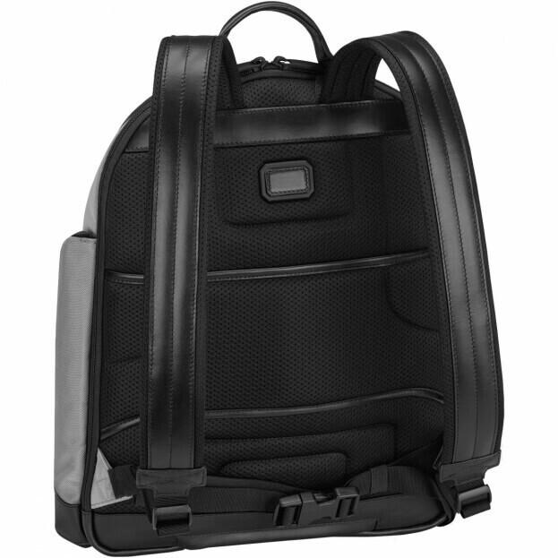 My Montblanc Nightflight Medium Backpack Τσάντα πλάτης Μαύρο/Γκρι