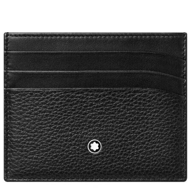 MONTBLANC Meisterstück Soft Grain Pocket 6cc BLACK