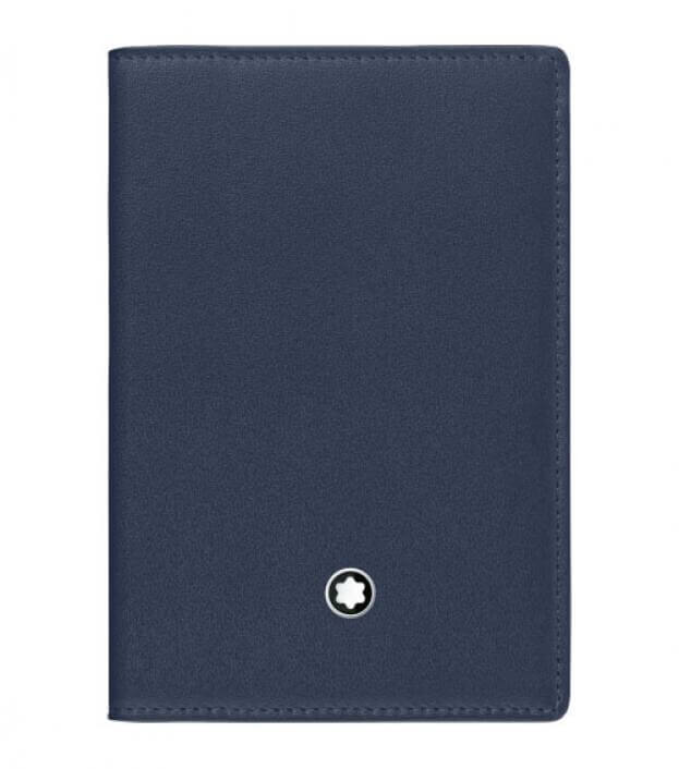 MONTBLANC MEISTERSTUCK BUSSINES CARD HOLDER BLUE