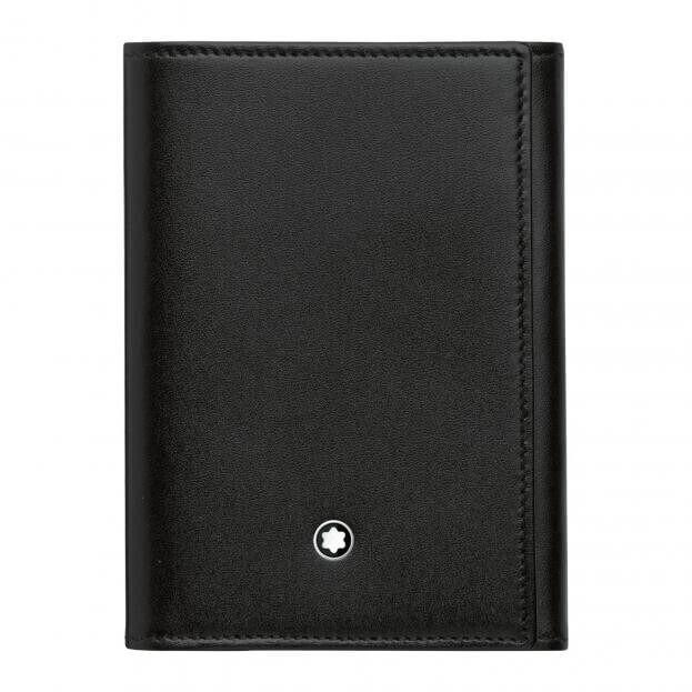 MONTBLANC MEISTERSTUCK BUSSINES CARD HOLDER 9CC TRIFOLD BLACK