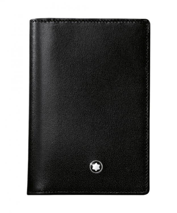 MONTBLANC MEISTERSTUCK BUSSINES CARD HOLDER WITH GUSSET 7167