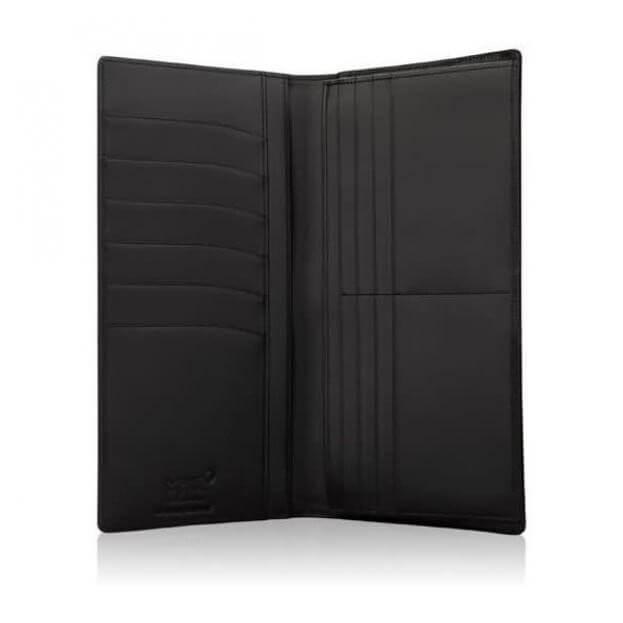 MONTBLANC MEISTERSTUCK LONG WALLET 14CC BLACK