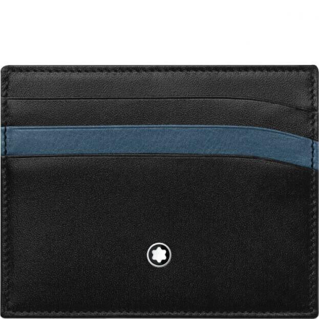 MONTBLANC MEISTERSTUCK POCKET 6CC BLACK/BLUE