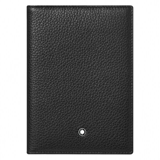 MONTBLANC MEISTERSTUCK Soft Grain Passport Holder Μαύρο