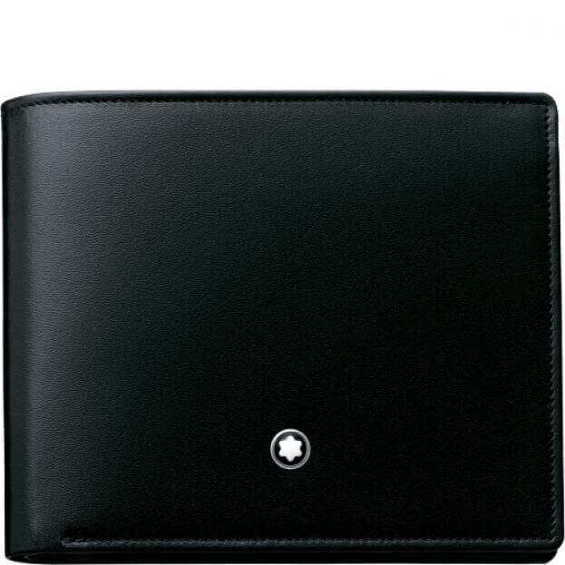 MONTBLANC MEISTERSTUCK WALLET 12CC BLACK
