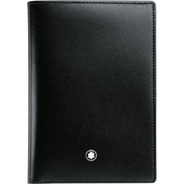 MONTBLANC MEISTERSTUCK WALLET 4CC BLACK