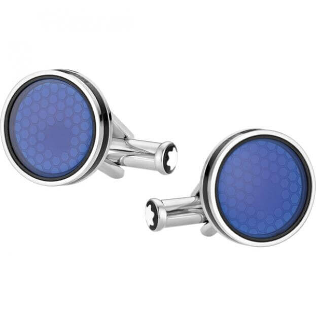 MONTBLANC MENS CUFF LINKS STAR COLLECTION 118602