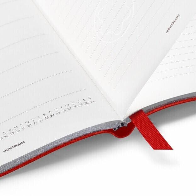 Montblanc 18-μηνο Εβδομαδιαίο Ημερολόγιο 2021 Κόκκινο