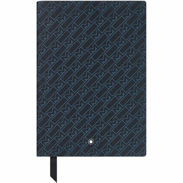 Montblanc Notebook #146 Montblanc M_Gram 4810 Σημειωματάριο Δερμάτινο A5 Μπλε