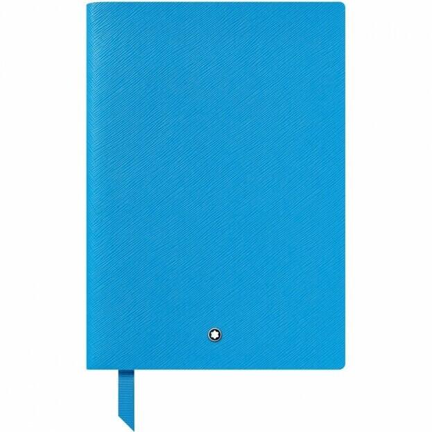 Montblanc Notebook #146 Σημειωματάριο Δερμάτινο Α5 Αιγυπτιακό Μπλε