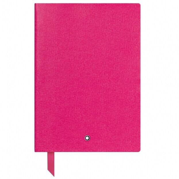 Montblanc Notebook #146 Σημειωματάριο Δερμάτινο Α5 Ροζ