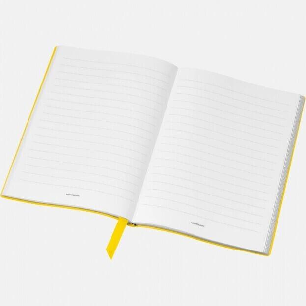Montblanc Notebook #146 Σημειωματάριο Δερμάτινο Α5 Κίτρινο