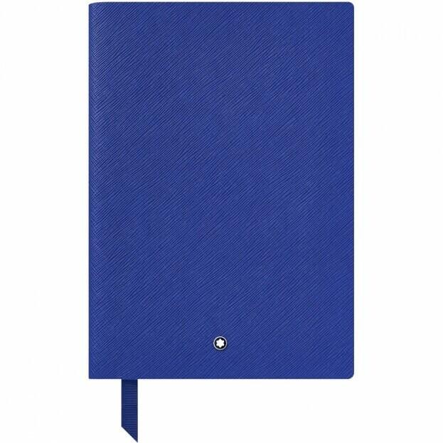 Montblanc Notebook #146 Σημειωματάριο Δερμάτινο Α5 Μπλε