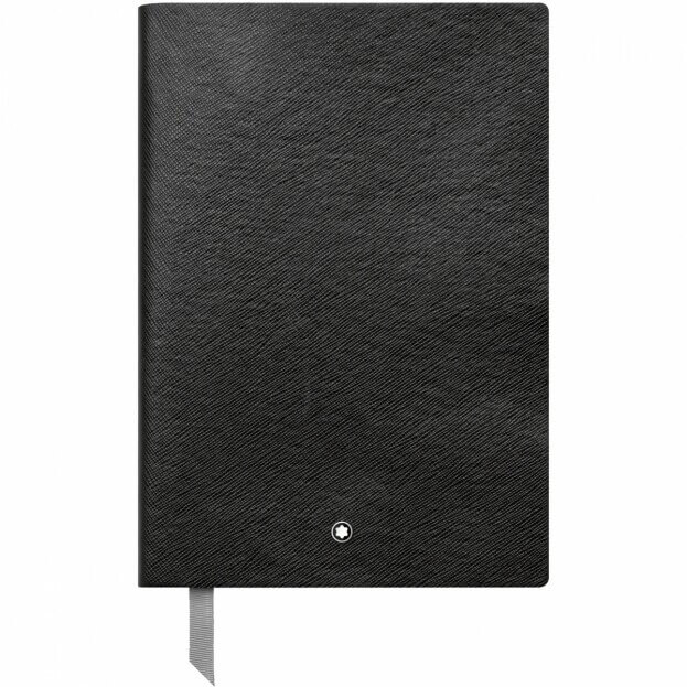 Montblanc Notebook #146 Σημειωματάριο Δερμάτινο Α5 Μαύρο