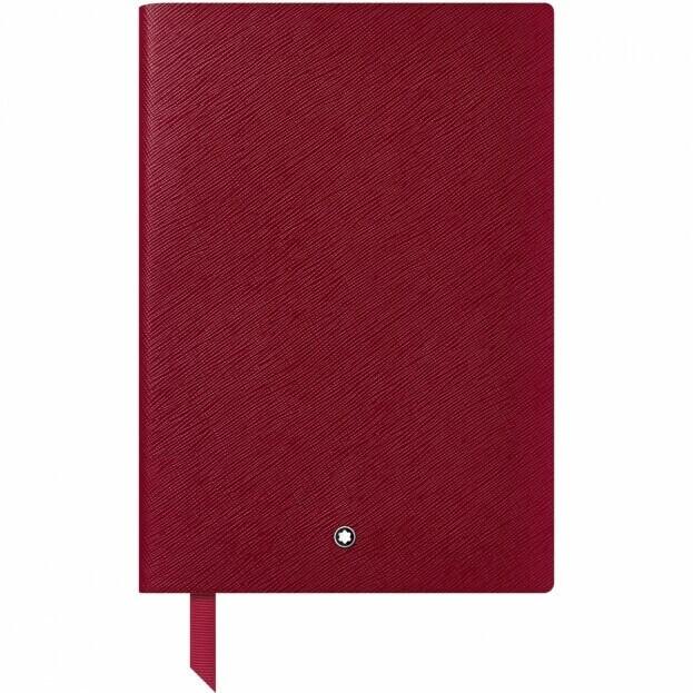 Montblanc Notebook #146 Σημειωματάριο Δερμάτινο Α5 Κόκκινο Carmine Red