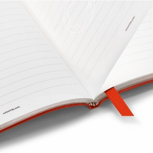 Montblanc Notebook #146 Σημειωματάριο Δερμάτινο Α5 Κόκκινο