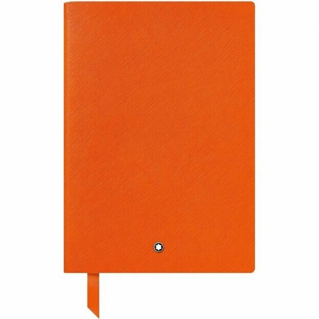 Montblanc Notebook #146 Σημειωματάριο Δερμάτινο Πορτοκαλί Α5