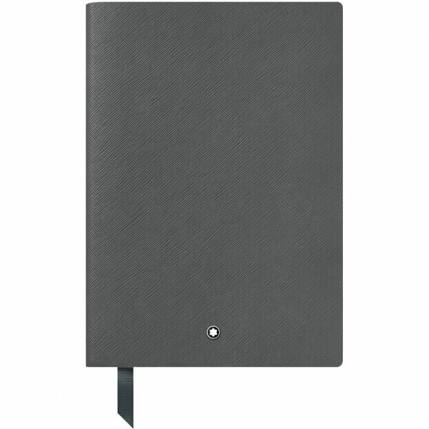 Montblanc Notebook #146 Σημειωματάριο Δερμάτινο Α5 Γκρι