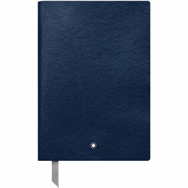 Montblanc Notebook #146 Σημειωματάριο Δερμάτινο Μπλε Α5